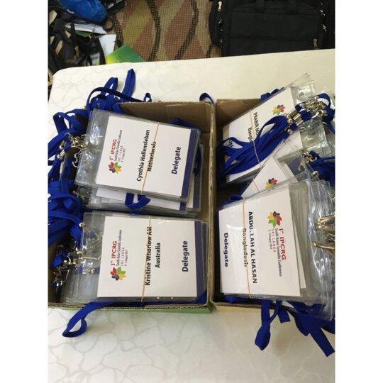 Delegate Badges