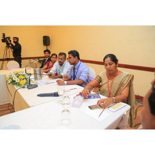 Sri Lankan Team using Spirosmart