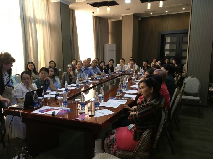 Masterclass on Smoking cessation in Kyrgyzstan