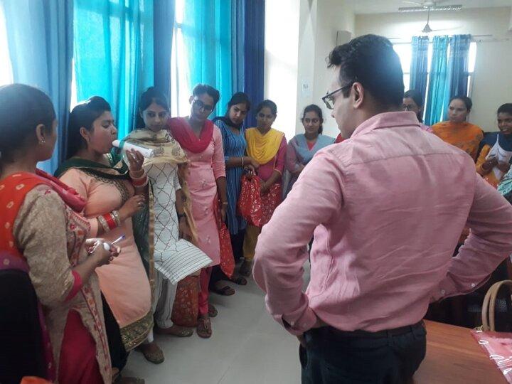 Training nurses on PEFR