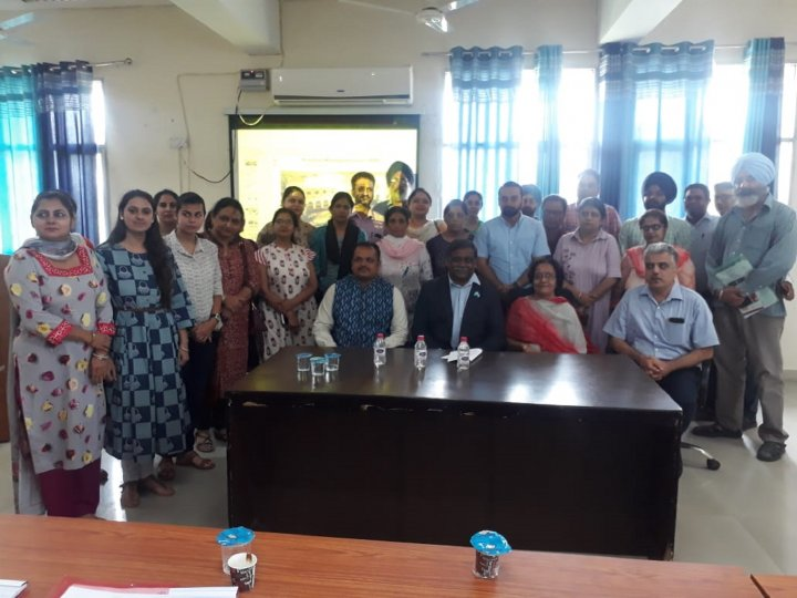 Training of doctors from Ludhiana, Punjab