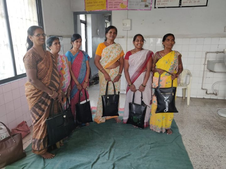 Community Health Workers from the Urban slum of Pune City in India - Participating the community based survey on COPD