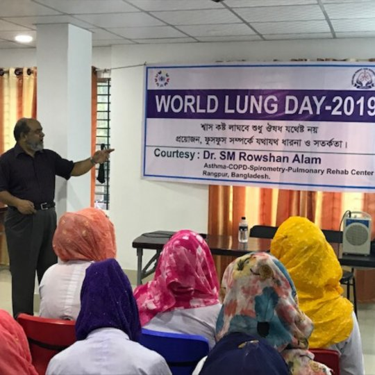 Bangladesh World Lung Day 2019