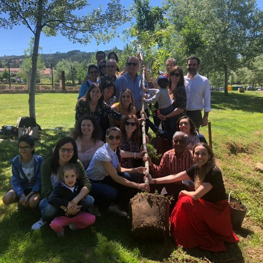 Portugal tree planting on World Asthma Day 2019