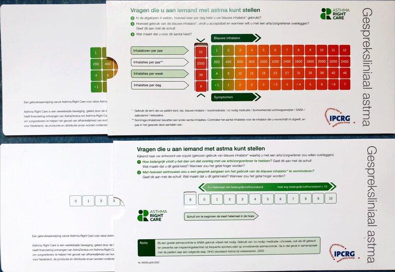 Dutch Asthma Slide Rule