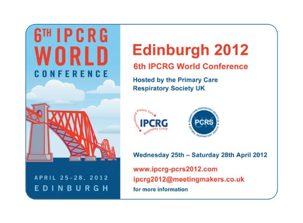 6th IPCRG World Conference, Edinburgh 2012