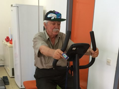 Pulmonary rehabilitation in Crete